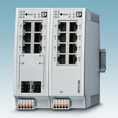 4998 Profinet switchar med GSDML filer för import i TIA Portal  Codesys etc.