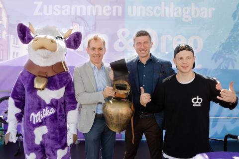 """""""Zusammen unschlagbar"""": Milka begeisterte mit seinem 12. Schokofest in Lörrach"""
