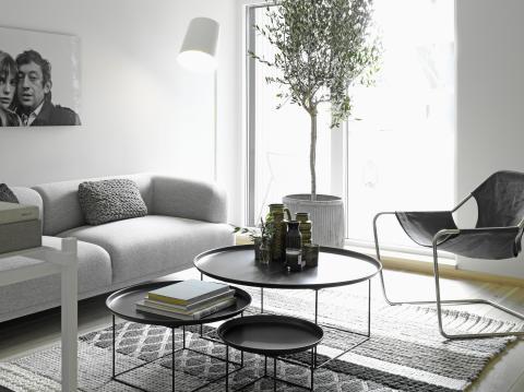 Folkhem och Lotta Agaton – vardagsrummet. Foto Henrik Bonnevier.
