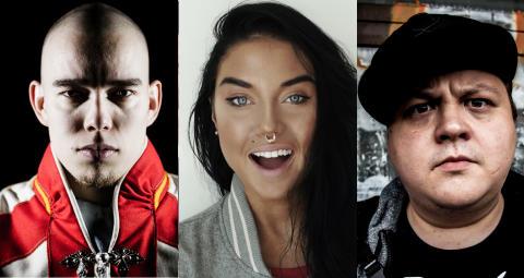 Maxida Märak, SlinCraze og Ailu Valle til Rockheim under Tråante 2017