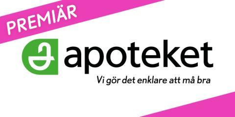 Apoteket öppnar nytt och större i Täby centrum