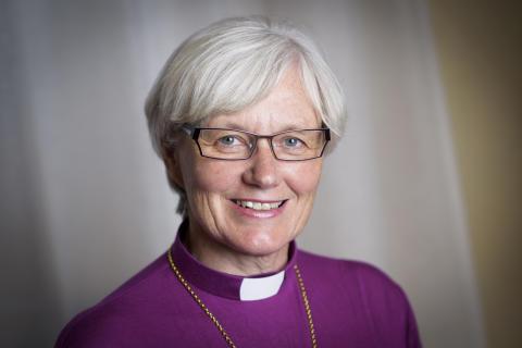 Ärkebiskop Antje Jackelén till Visa vägen-juryn