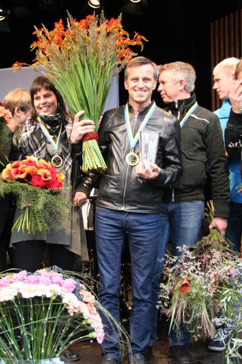 SM-vinnaren i blomsterbinderi 2010 Tomas Kallin