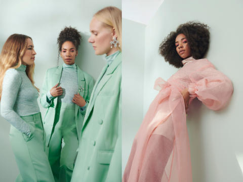 AÉRYNE X GINA TRICOT  NEW DESIGN COLLABORATION WITH FOCUS ON  SUSTAINABILITY AND FEMALE EMPOWERMENT