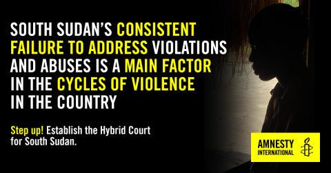 Sydsudan: Ett lamslaget rättssystem gör att straffriheten för krigsbrott fortsätter