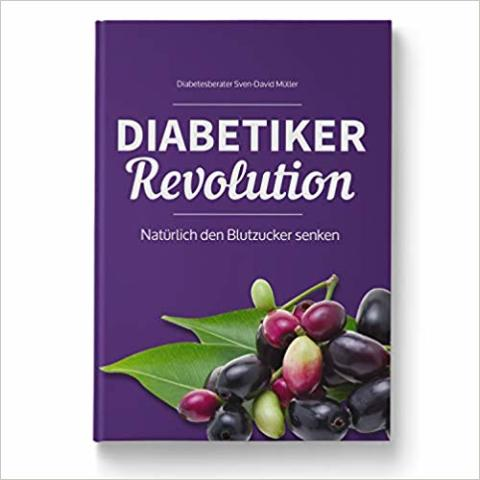 """Das neue Buch für Diabetiker heißt """"Diabetiker Revolution"""""""