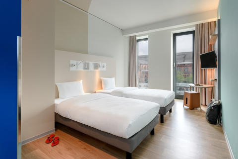Twin room im ibis budget Bremen City Center © Christoph Weiss
