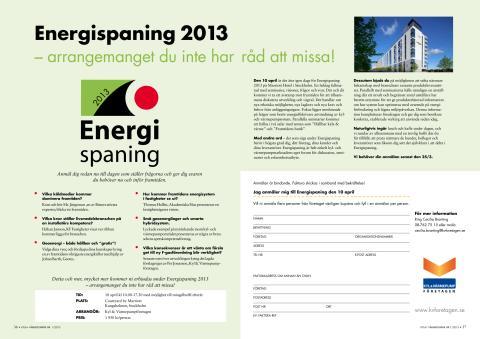 Energispaning 2013