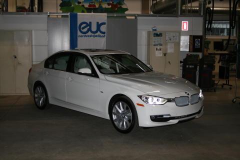 BMW 320i xDrive træningsbil
