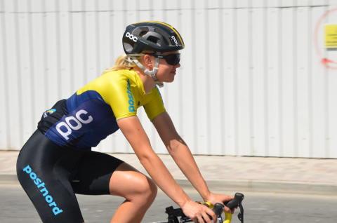 Alexandra Nessmar på VM i Doha
