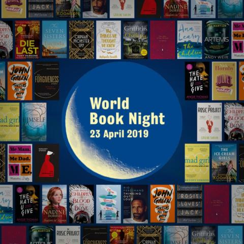 ​Celebrate World Book Night at Ramsbottom Library