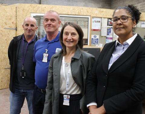 Elgin sheriff tours Community Payback project