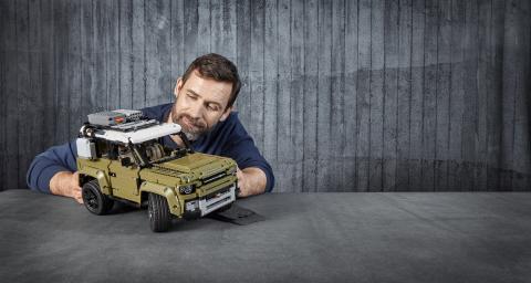 Bygg din egen Land Rover Defender