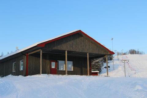 Invigning av servicestugan vid Rudträskbacken