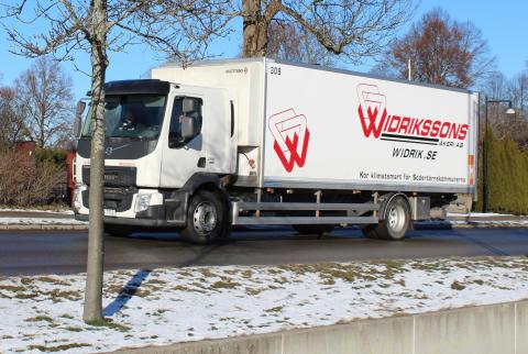 Widrikssons firar ett år med fossilfria leveranser