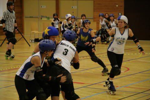 Storvinst för Stockholm Roller derby Allstars