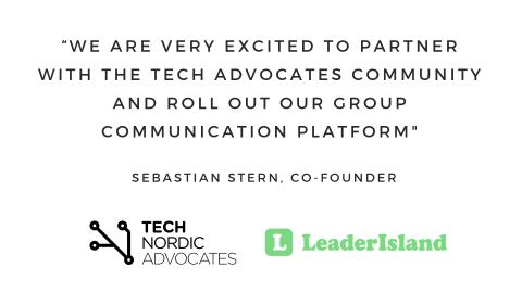 Leader Island partners with Tech Nordic Advocates