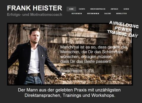 Frank Heister - Network- und Erfolgscoach