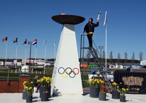 Bild Olympiatravet