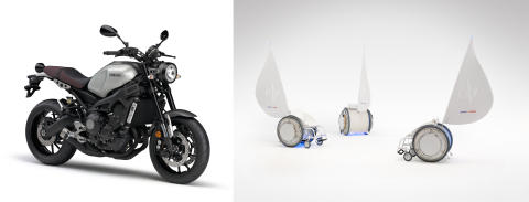"""Yamaha Motor Receives Global """"iF Design Award"""" for Fourth Consecutive Year - XSR900 Motorcycle Receives Fourth Design Award -"""