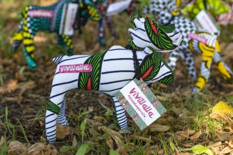 Konstprojektet Vivallaälgen gör succé – lyfter kvinnligt entreprenörskap i Vivalla