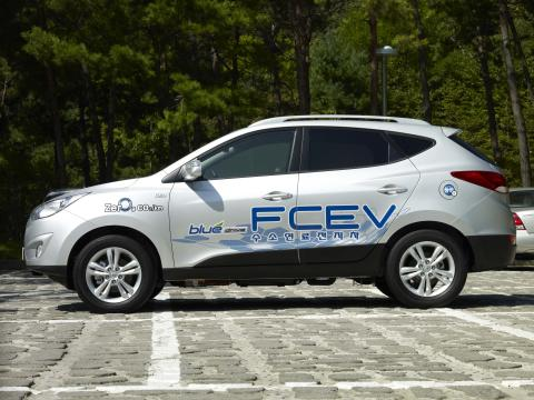 Prøv en Hyundai hydrogenbil