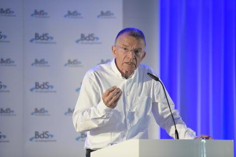 Prof. Dr. Klaus Hurrelmann, BdS-Mitgliederversammlung 2018