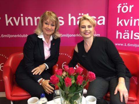 Ny säsong av Alexandras hörna! Samtal med Helena Bergström.