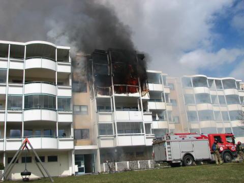 Færre omkommer i brann