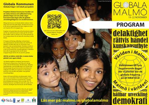 Program Globala Malmö 19-22/11-2011