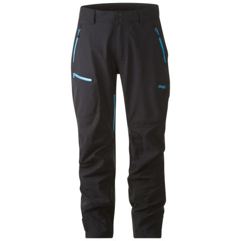 Breheimen 3-Layer Pants - Black/Br Sea Blue