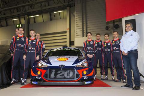 Hyundai Motorsport siktar på seger i 2018 FIA World Rally Championship.