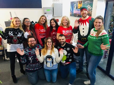Fred. Olsen staff's 'Christmas Craft Fayre and Cake Bake' brings festive cheer to three local charities