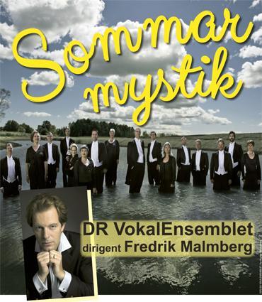 DR VokalEnsemblet och Fredrik Malmberg i Dalby kyrka
