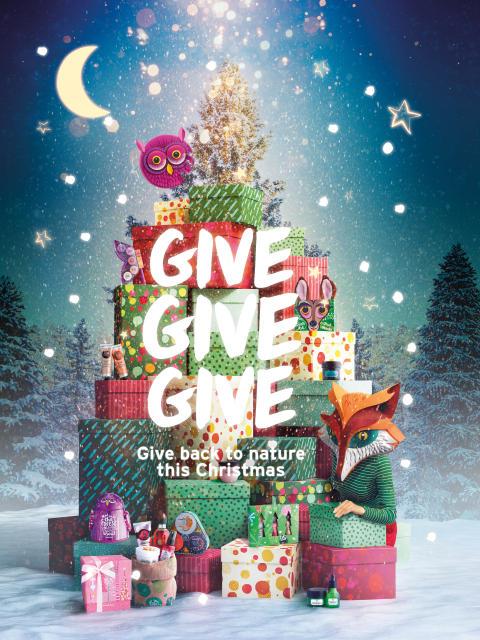 Be Enchanted By Nature - Ge tillbaka till naturen i jul tillsammans med The Body Shop!