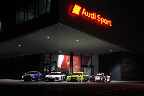 Audis motorsportsprogram 2015