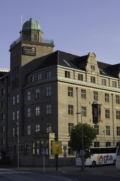 Gjev pris til Clarion Collection Hotel Havnekontoret