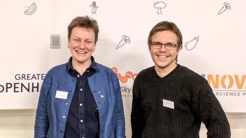 Susanne Welin-Berger och Marcus Johansson
