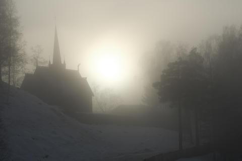 Garmo stavkirke på Maihaugen