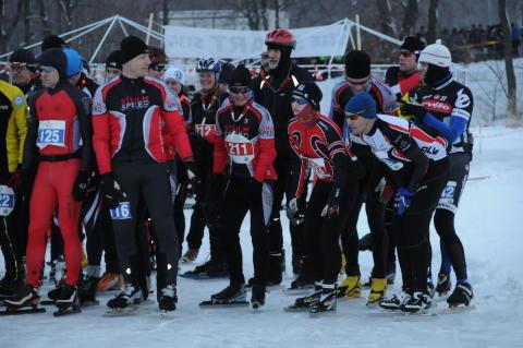 Vikingarännet 2011 - start elit