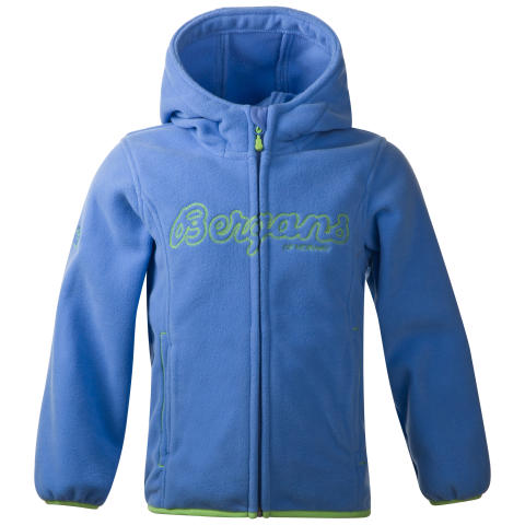 Bryggen Kids Jacket - Sky Blue/Lime Zest