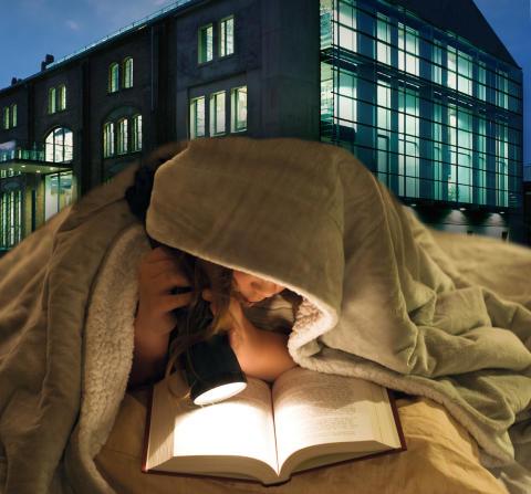 7. öffentlicher Schmökerabend am ersten Adventswochenende in der Hochschulbibliothek