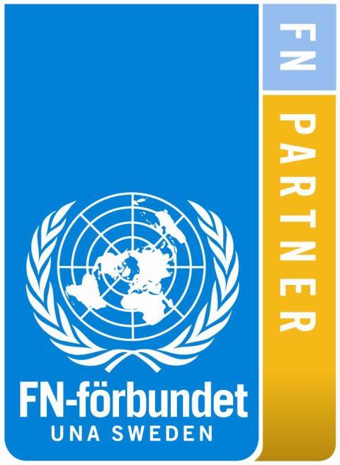 FN dagen idag!  Gen.sekr får 1M från Barista kl 11.15 på Sthlm C