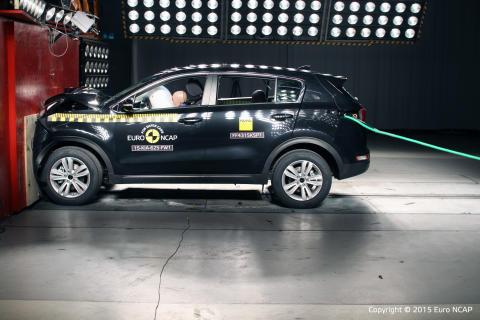 Sportage EuroNCAP front