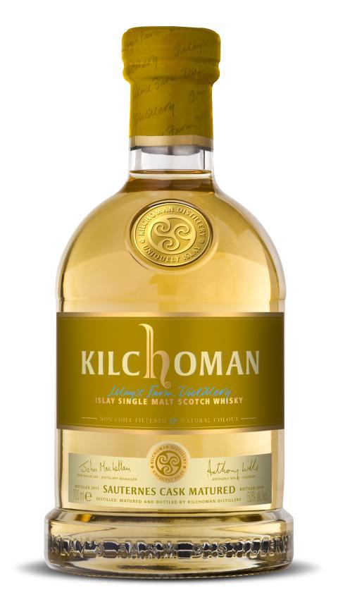 Kilchoman Sauternes Cask Matured flaska