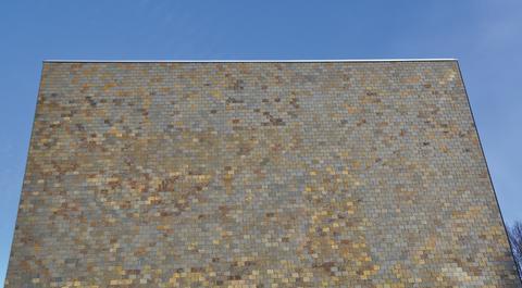 Samaca Multicolor taksiffer på fasad