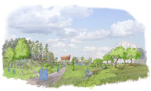 Nu är planprogrammet för Södra Ladugårdsskogen godkänt
