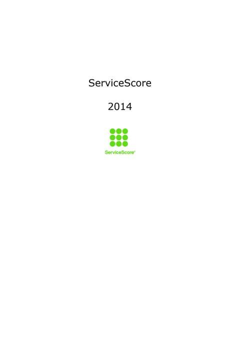 Bäst på service 2014