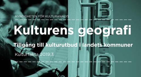 Ny rapport: Sårbart kulturutbud i landsbygden