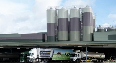 Arla's Aylesbury dairy will be officially opened this morning